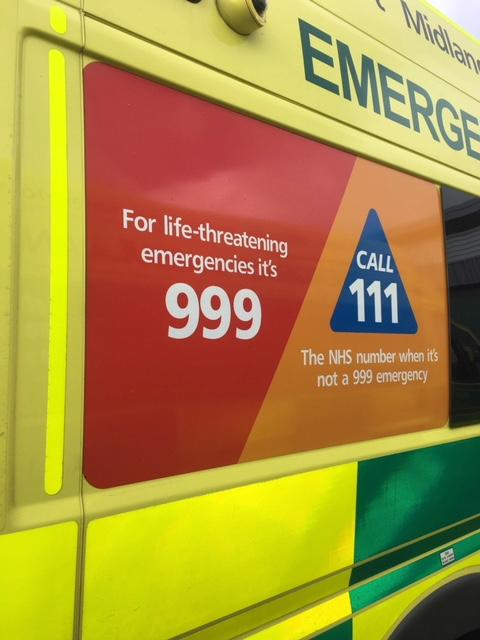 Who You Gonna Call? 999, 111, 112 or 101? - Immediate Care